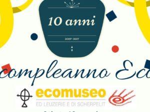 Buon compleanno Ecomuseo!