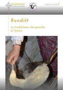 quaderni - runditt - ecomuseo malesco
